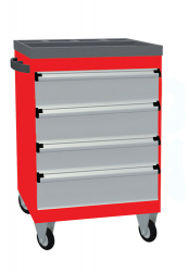 Mobile Drawer Cabinets Without Body Door