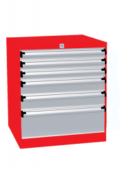 Heavy Duty Drawer Cabinets, Type 5, height: 67cm