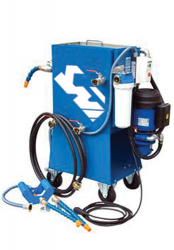Maintenance-Station For Cooling Lubricants
