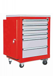 Mobile Drawer Cabinet Height 81 cm With Body Door