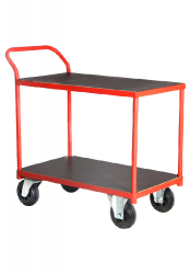 Table Top Cart With One Inclined Handle