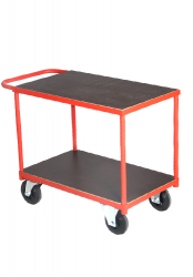 Table Top Cart With One Horizontal Handle