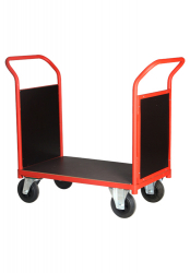 Double Open Sided Platform Cart