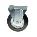 چرخ پایه دار ثابت با رینگ فولادی