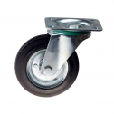 چرخ پایه دار گردان با رینگ فولادی